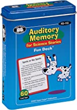 Super Duper Publications Auditory Memory for Science Stories Fun Deck Flash Cards Educational Learning Resource for Children