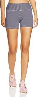 Lorna Jane Women's Agile Core Shorts Tight, Ink/White Stripe