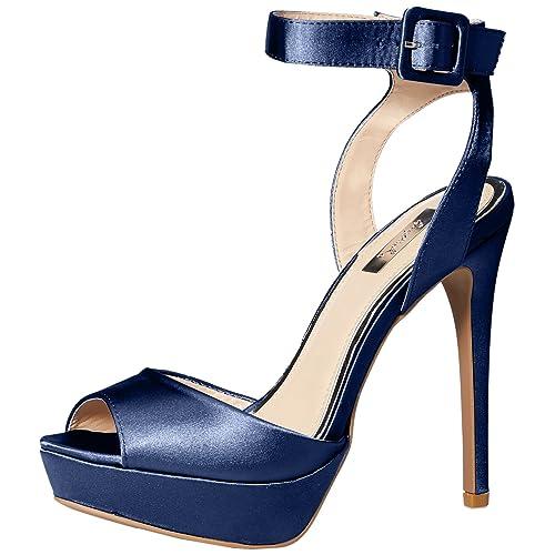 19e36514d9 Qupid Women's AVALON-187 Heeled Sandal