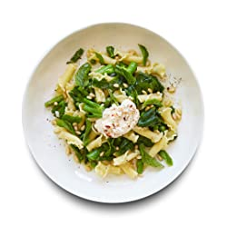 Amazon Meal Kits, Pasta Primavera with Ricotta, Broccolini, Peas & Mint, Serves 2
