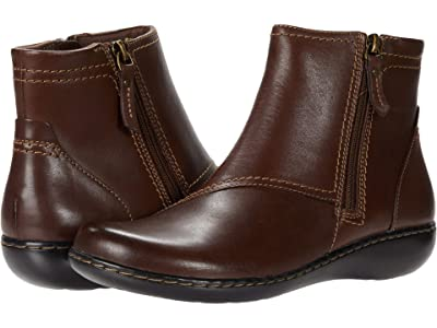 Clarks Ashland Vista (Dark Brown Leather) Women