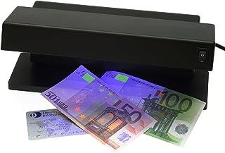 GENIE MD 1784 - Detector de billetes falsos con 2 tubos UV,