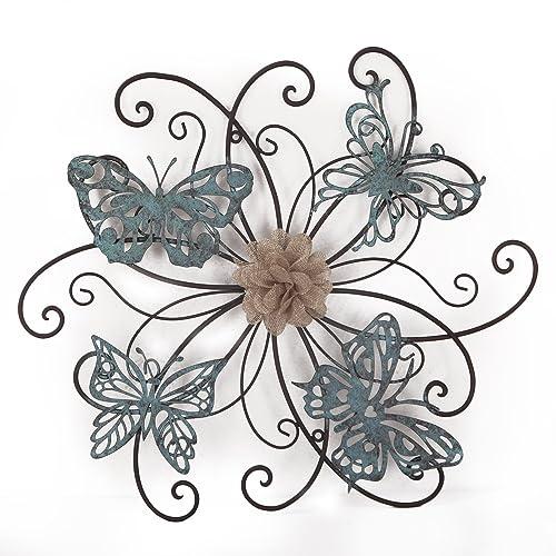 Butterfly Bathroom Decor: Amazon.com