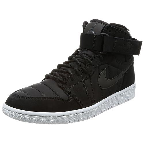new product f1bf6 022a8 Nike Jordan Men s Air Jordan 1 High Strap Basketball Shoe