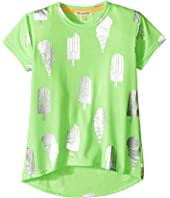 Appaman Kids - Ice Cream Metallic Print Circle Tee (Toddler/Little Kids/Big Kids)