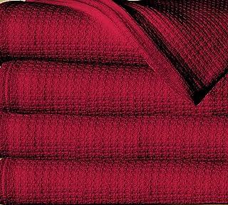 Sun Yin USA Inc Full Queen Burgundy 100% Cotton Blanket