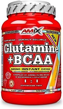Amix Glutamina+Bcaa 1 Kg Frutas Del Bosque 1 1000 g ...