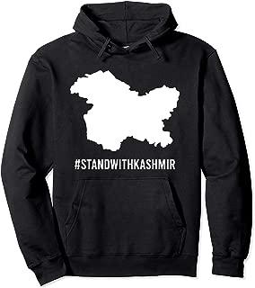 #standwithkashmir Kashmir Map - Pakistan Stands With Kashmir Pullover Hoodie