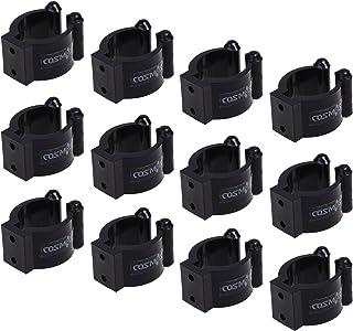 COSMOS 台球拍杆定位夹夹,适用于台球杆架,12 件