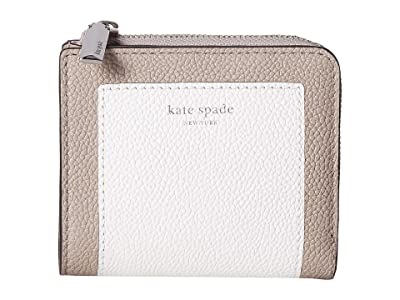 Kate Spade New York Margaux Small Bifold Wallet (Optic White Multi) Bi-fold Wallet