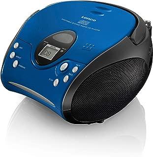 Radio CD LENCO SCD-580SI Color Plata Vintage Bluetooth CD//MP3