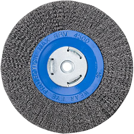 "POWERTEC 15508 1//2/"" Arbor 150-Grit Silicon Carbide Grinding Wheel 6/"" x 3//4/"""