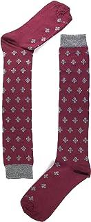 naive, LIS6L Calcetines altos, Rojo (Burdeos 6), 36/41 (Tamaño del fabricante:M) para Mujer