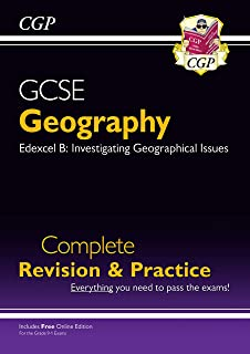 Grade 9-1 GCSE Geography Edexcel B Complete Revision & Practice (with Online Edition)