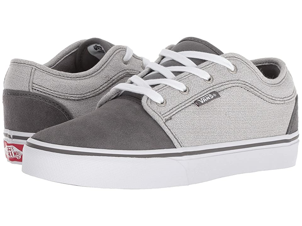 Vans Kids Chukka Low (Little Kid/Big Kid) ((Suiting) Pewter/Frost Gray) Boys Shoes