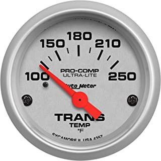 Auto Meter 4357 Ultra-Lite Electric Transmission Temperature Gauge