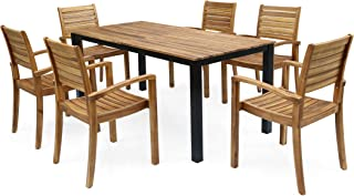 Best black outdoor dining set Reviews