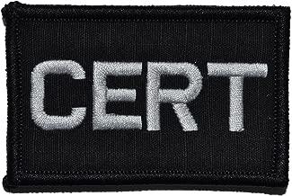 Community Emergency Response Team CERT - 2x3 Morale Patch - Black