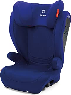 Diono Monterey 4DXT Latch, 2-in-1 Belt Positioning Booster Seat with Expandable Height/Width and 3-Layers of Protection, Blue