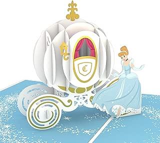 Lovepop Disney's Cinderella Pop Up Card, 3D Card, Pop Up Birthday Card, Greeting Card, Disney Card, Birthday Card for Kids