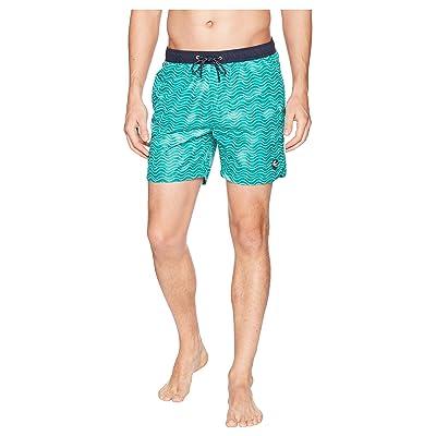 Scotch & Soda Classic Swim Shorts with Fresh Two-Tone All Over Pattern (Combo B) Men