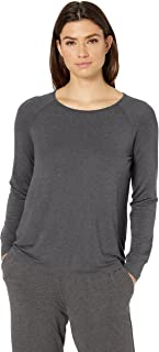 Amazon Essentials Women's Relaxed Long-Sleeve Sleep T-Shirt