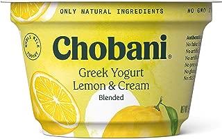 Chobani Greek Yogurt, Whole Milk, Lemon, 5.3 oz