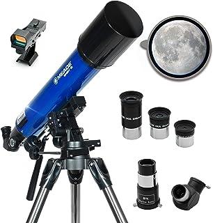 Meade Instruments Infinity 90AZ Refractor Telescope - Metallic Blue