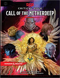 Critical Role Presents: Call of the Netherdeep (D&D Adventure Book)