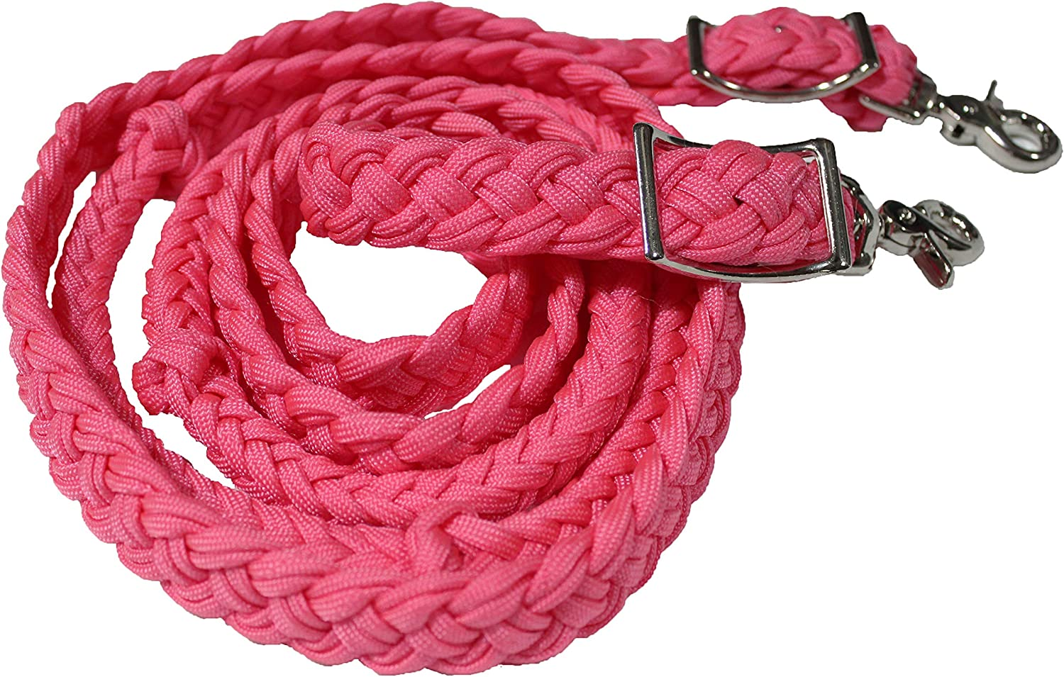CHALLENGER Roping Raleigh Mall Knotted half Tack Western Horse Barrel Reins Nylon