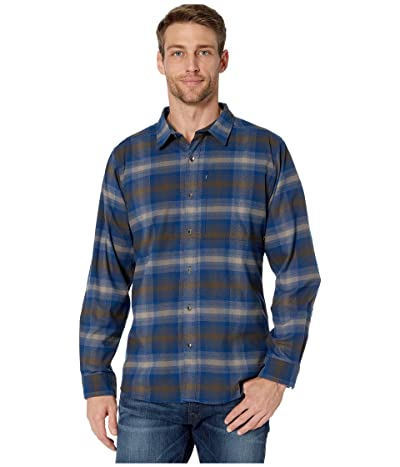Royal Robbins Merinoluxtm Flannel Long Sleeve (Light Taupe) Men
