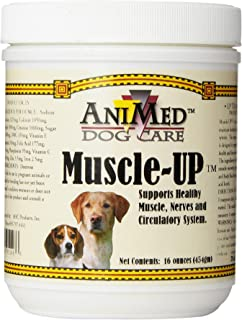 AniMed AHC Products Muscle Up Powder for Dogs, 16-Ounce