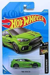 Hot Wheels 2019 Nightburnerz 139/250: Ford Focus RS [Int. Card]