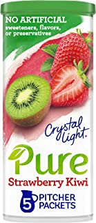 Crystal Light Pure Strawberry Kiwi Drink Mix (5 Pitcher Packets)