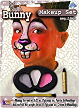 Forum Novelties Bunny Makeup Kit for Children - Halloween Animal Face Paint for Kids, One Size