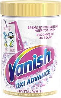Vanish Oxi Action - Crystal White Poeder - Vlekkenverwijderaar voor Witte Was - 600 g
