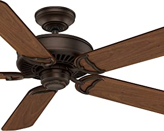 Hunter Fan 54 inch Traditional Brushed Cocoa Indoor Ceiling Fan (Renewed)