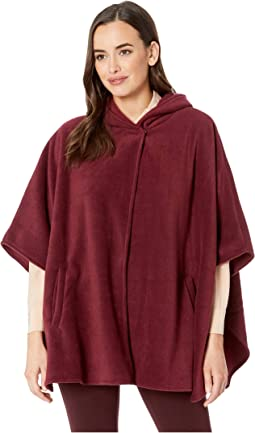 Fleece Hooded Cape