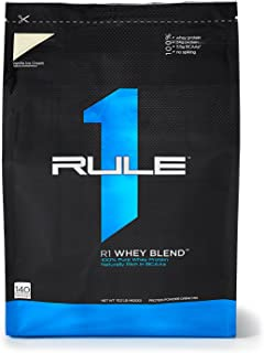 R1 Whey Blend, Rule 1 Proteins (Vanilla Ice Cream, 140 Servings)
