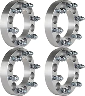 ECCPP 6 Lug 12x1.5 Studs Wheel Spacers Adapters 4X 1.25 inch (32mm) 6x5.5 to 6x5.5 Compatible with Chevrolet Chevy Colorado GMC Canyon Toyota FJ Cruiser Tacoma Isuzu Kia Lexus Mitsubishi