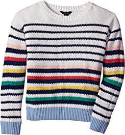Variegated Stripe Sweater (Big Kids)