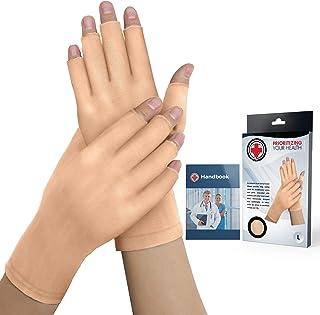 Dr. Arthritis – Arthrose Handschuhe Fingerlos inkl. Handbuch vom Arzt –..
