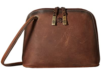 STS Ranchwear The Baroness Crossbody (Brown) Cross Body Handbags