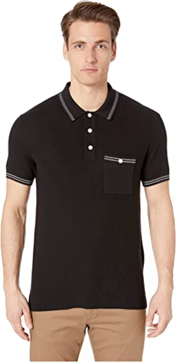 Tipped Mesh Polo