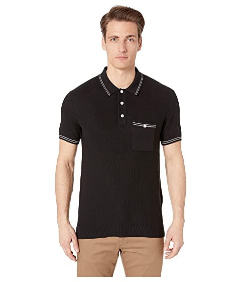 Todd Snyder Tipped Mesh Polo