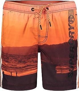 Superdry State Volley Swim Shorts - Santa Monica Sundown