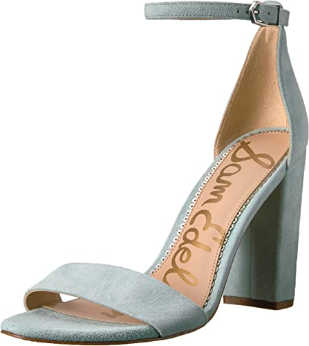 Sam Sam Edelman Wohommes Yaro Heeled Sandal, Amalfi bleu, 9 Medium US  le moins cher