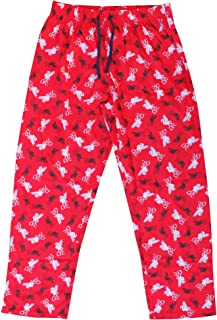Official Adults Liverpool FC Soccer Lounge Pants (100% Cotton Pyjama Bottoms)