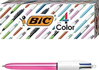 bic 4 color shine pen