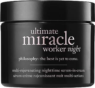 Philosophy Ultimate Miracle Worker Night Night-time Serum-In-Cream Moisturiser, 60ml